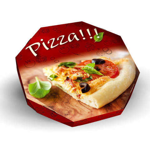 EMBALAGEM PIZZA N35 PERSONALIZADA - 5000 UNID